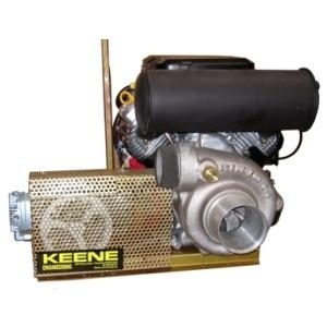 23 HP Engine, Pump & Compressor w/Electric Start